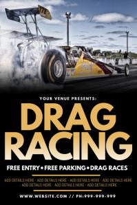 Drag Racing Poster