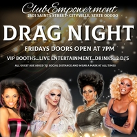 Drag Show Ladies Night queen empowerment conf