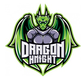 Dragon Knight Mascot Logo Ilogo template
