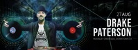 DRAKE PATTERSON DJ Facebook Cover Video template