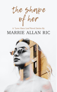 Dramatic Double Exposure Girl Book Cover Temp