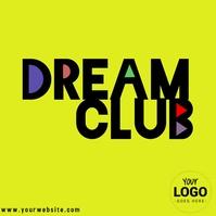 dream club logo template