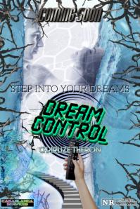 DREAM CONTROL Poster template