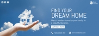 Dream Home Ad Fotografia de capa do Facebook template