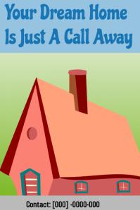 Dream home real estate flyer