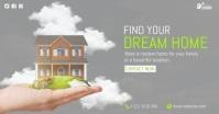 Dream Home Video Ad Imagem partilhada do Facebook template