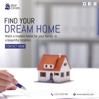 Dream Home Video Ad template