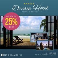 Dream Hotel Promo Elegant Instagram video template