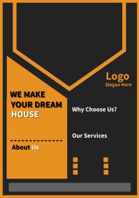 DREAM HOUSE A4 template