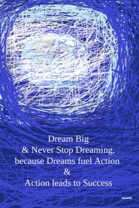 Dream Weaver-Artistic Inspirational Poster #artprints #motivational