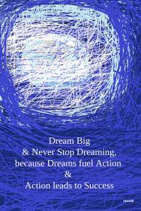 Dream Weaver-Artistic Inspirational Poster #artprints #motivational