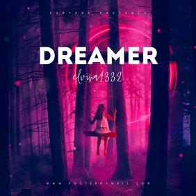 Dreamer Fantasy Mixtape Cover