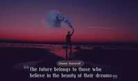 dreams Etiqueta template