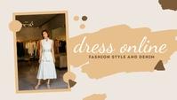 Dress Online Templates Intestazione blog