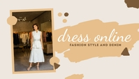 Dress Online Templates Cabeçalho de blogue