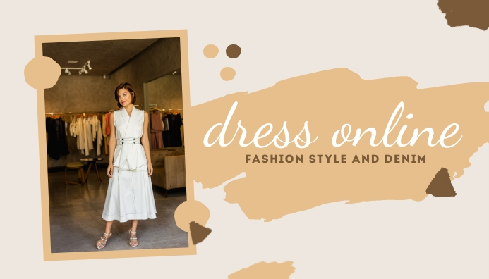 Dress Online Templates Blog Header