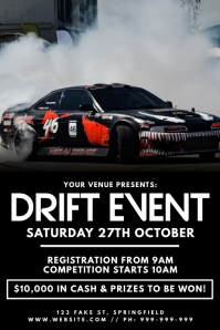 Drift Event Poster