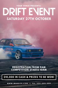 Drift Event Poster