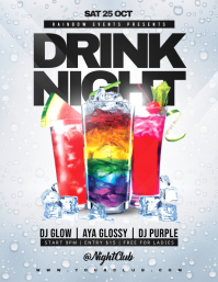 DRINK NIGHT Flyer Template