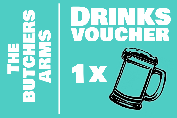 picture about Printable Southwest Drink Coupons referred to as Beverages Voucher Template PosterMyWall