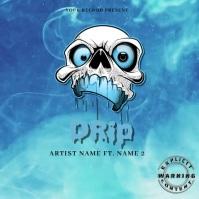 DRip Mixtape/Album Cover Art ปกอัลบั้ม template