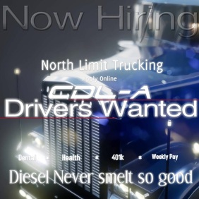 driver wanted Hiring