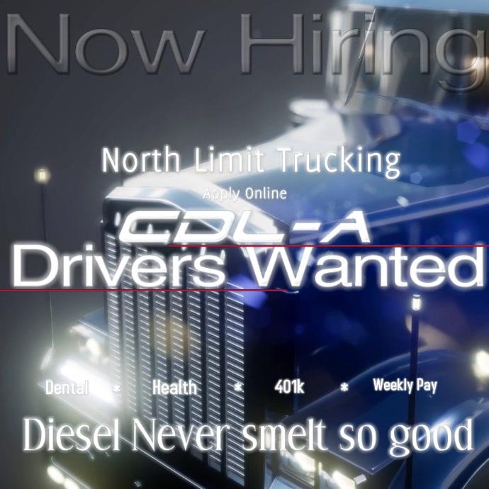 driver wanted Hiring