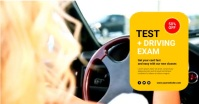 driving school Facebook Shared Image template