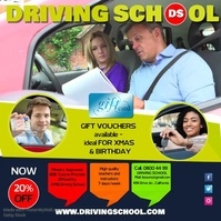 Driving School Instagram Post