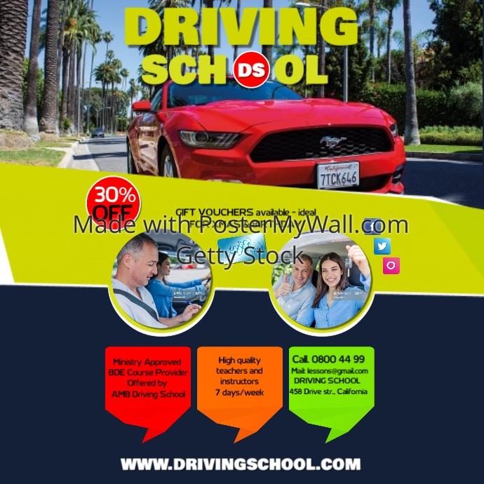 driving school1 template