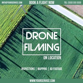 Drone filming service