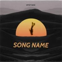 falling down mixtape cover art design template Albumcover
