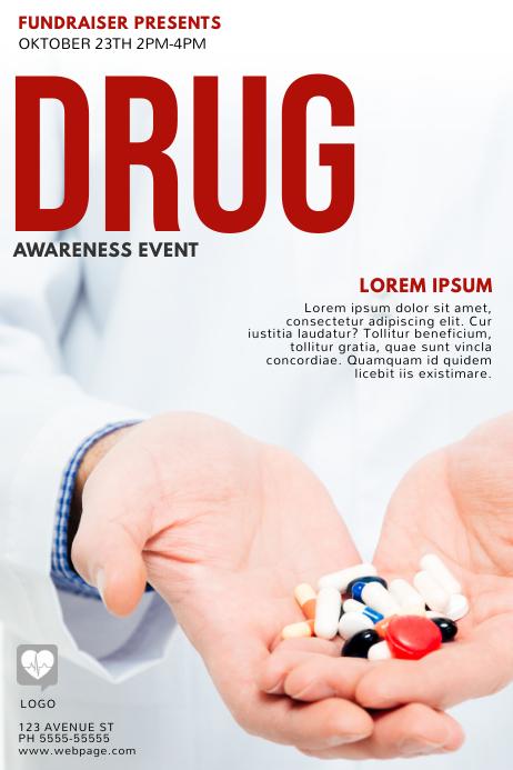 Drug Awareness Flyer