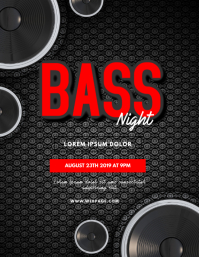 Drum and Bass Party Flyer Template