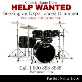 Drummer Job