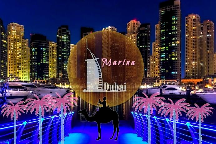 Dubai/Arab Emirates/Marina/Middle east