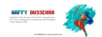 DUSSEHRA Facebook Cover Photo template