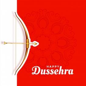 Dussehra Instagram Plasing template