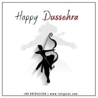 DUSSEHRA Instagram Post template