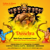Dussehra Investing Post Template