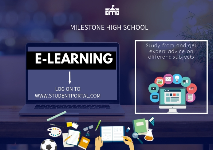 E-learning A3 template