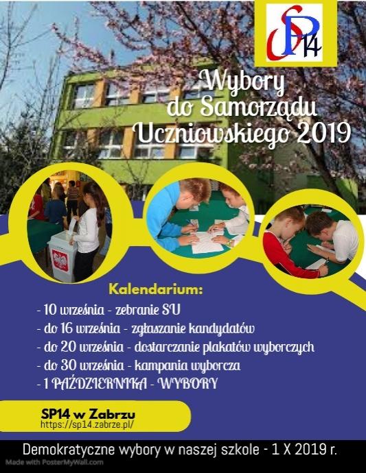 School Flyer (US Letter) template