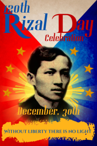 Rizal Day Poster Template