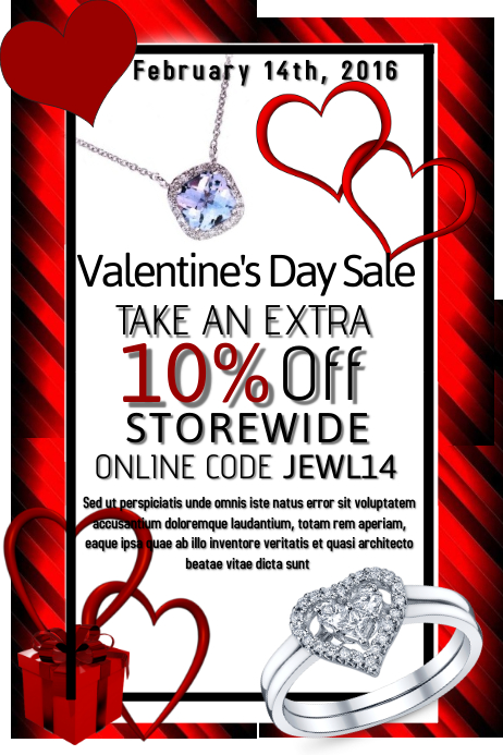 valentines day retail