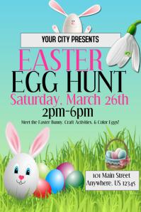Easter Egg Hunt Event Template