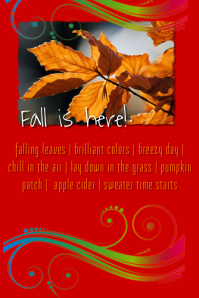 Fall time to do list