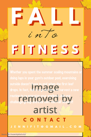 Fall Fitness Flyer