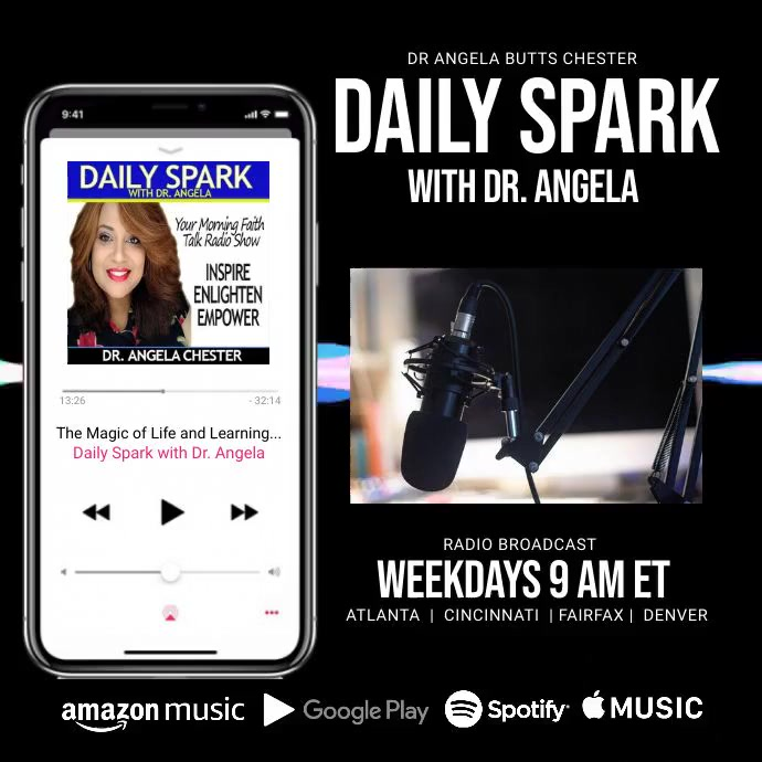 Daily Spark radio Post Instagram template