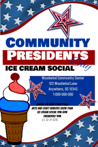 Presidents Day Ice Cream Social Event