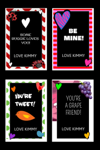 Valentine Personalized Cards